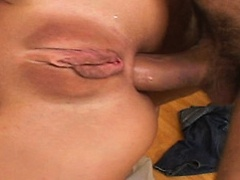 Beauty blonde MILF gets cock in all holes