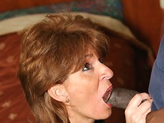 Older whore takes a dicking and keeps on licking!