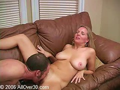 Lauren craves younger cock and she gets her wish here